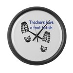 Foot Fetish Large Wall Clock