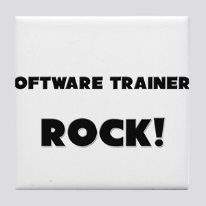 Software Trainers ROCK Tile Coaster