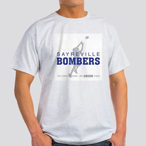 Sayreville Bombers Football Light T-Shirt