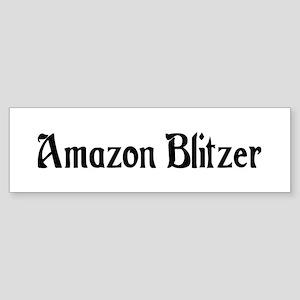 Amazon Blitzer Bumper Sticker
