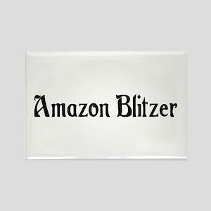 Amazon Blitzer Rectangle Magnet