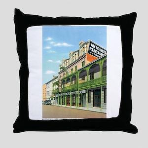 New Orleans Louisiana LA Throw Pillow
