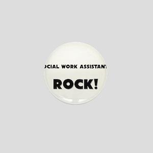 Social Work Assistants ROCK Mini Button