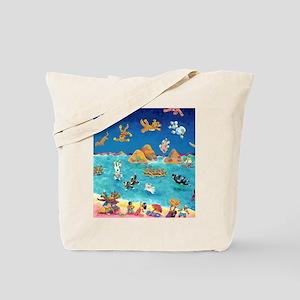 Raining Cats & Dogs in Lanikai Tote Bag