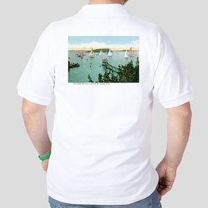 Bar Harbor Maine ME Golf Shirt