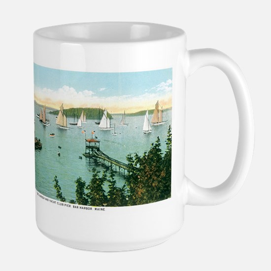 Bar Harbor Maine ME Large Mug