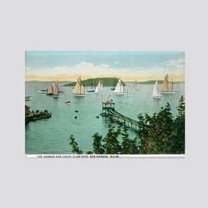 Bar Harbor Maine ME Rectangle Magnet