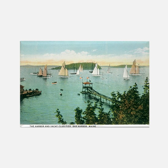 Bar Harbor Maine ME Rectangle Magnet (10 pack)