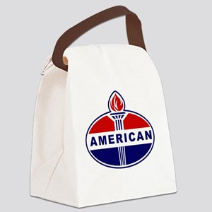 American Oil Canvas Lunch Bag