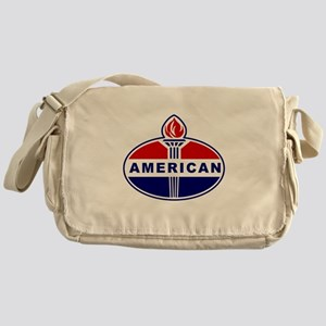 American Oil Messenger Bag