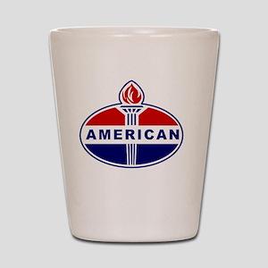 American Oil Shot Glass