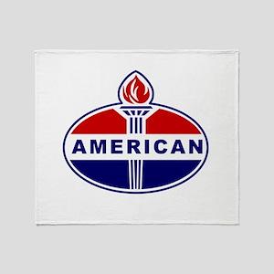 American Oil Throw Blanket