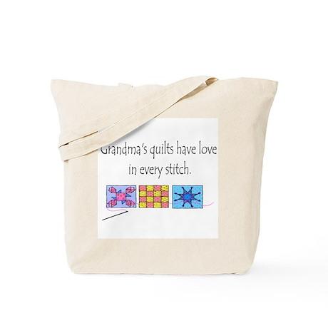 Grandma's quilts Tote Bag