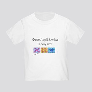 Grandma's quilts Toddler T-Shirt