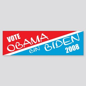 Obama Bin Biden bumper sticker
