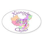 Xiangyin China Oval Sticker