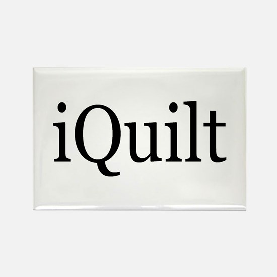 iQuilt Rectangle Magnet