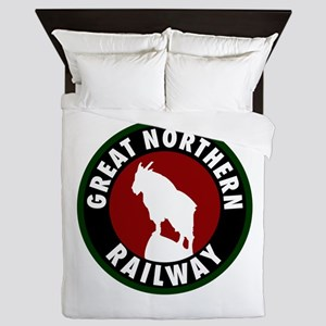 Great Northern Railway Queen Duvet