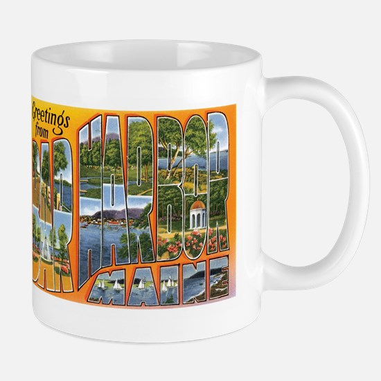 Bar Harbor Maine ME Mug