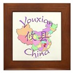 Youxian China Framed Tile