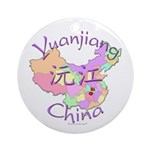 Yuanjiang China Ornament (Round)