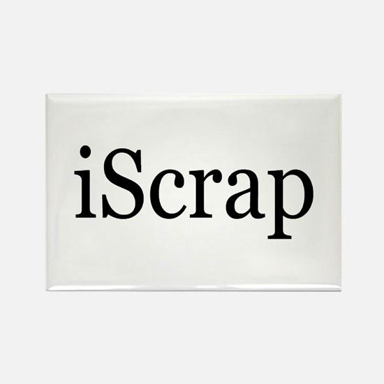 iScrap Rectangle Magnet