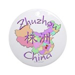 Zhuzhou China Ornament (Round)