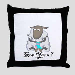 Got Yarn? Throw Pillow