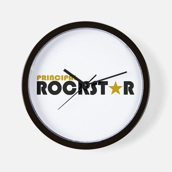 Principal Rockstar Wall Clock