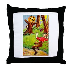 Busy Jack Throw Pillow