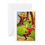 Busy Jack Greeting Card