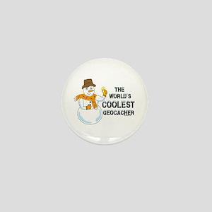 World's Coolest Geocacher Mini Button