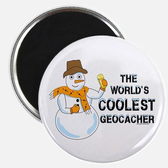 World's Coolest Geocacher Magnet