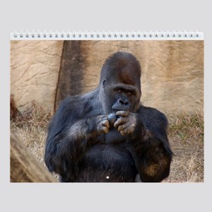 Gorilla 001 Wall Calendar