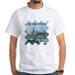 Chicago Skyline White T-Shirt