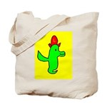 Birdie Tote Bag (Red, Green & Yellow with L)