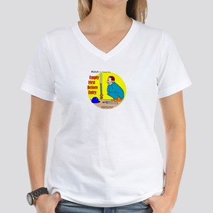 Confined Space Safety Women's V-Neck T-Shirt
