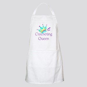Crocheting Queen BBQ Apron