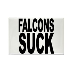 Falcons Suck Rectangle Magnet (10 pack)