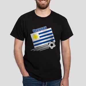Uruguay Soccer Team Dark T-Shirt