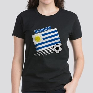 Uruguay Soccer Team Women's Dark T-Shirt