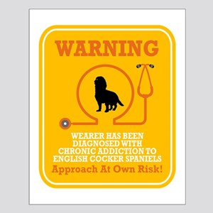 English Cocker Spaniel Small Poster