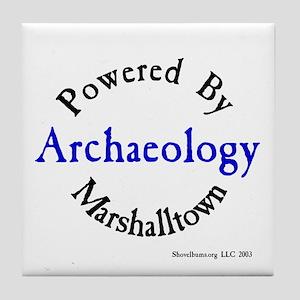 Powered By Marshalltown Tile Coaster