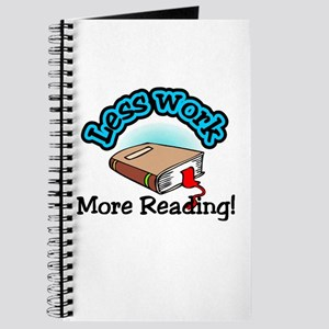 Less work more reading Journal