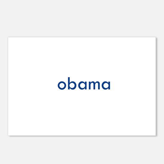 OBAMA / BIDEN Postcards (Package of 8)