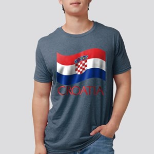 Croatia Waving (C) T-Shirt