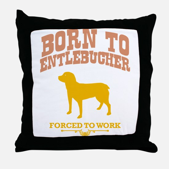 Entlebucher Sennenhund Throw Pillow