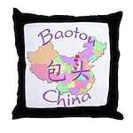 Baotou China Throw Pillow