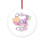 Chifeng China Ornament (Round)