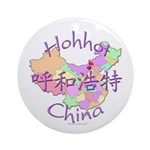 Hohhot China Ornament (Round)